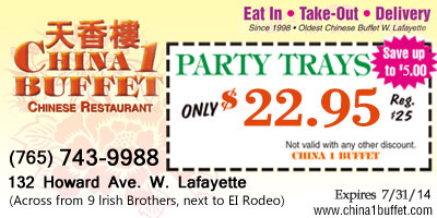 Party Trays only $20.00