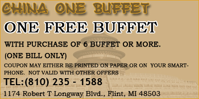 ONE FREE BUFFET