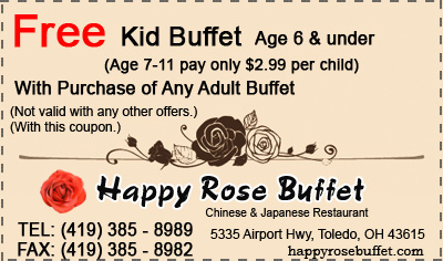 Free Kid Buffet