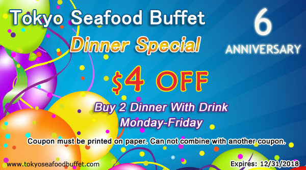 Dinner Special $4 off