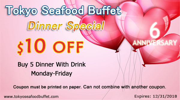 Dinner Special $10 off