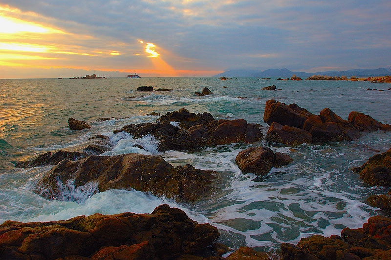 Tropical Seashore Scenic Zone of Sanya City3