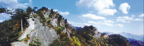 photo of Mountain North Wudang Scenery Area