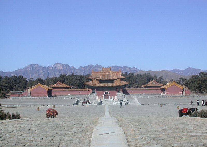 the Western Qing Tombs7