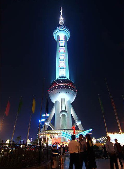 The orient Pearl TV Tower5
