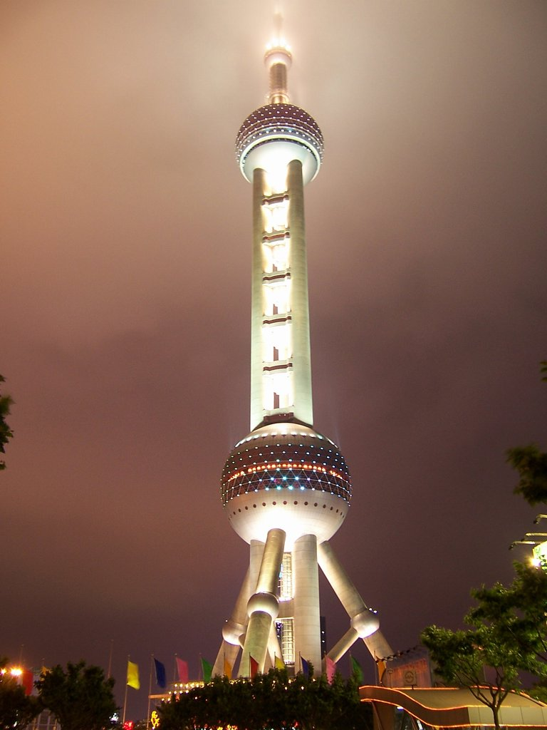 The orient Pearl TV Tower4