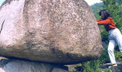 photo of Panshan peculiar rocks